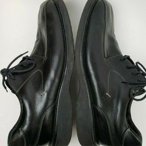 Kenneth Cole Reaction Shoes - KENNETH COLE REACTION Black Leather Oxfords